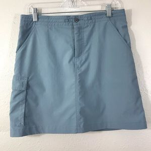 Patagonia outdoors wear light blue skirt size 6